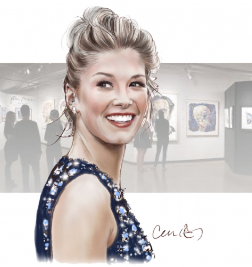 Rosamund Pike by Roger_Curley